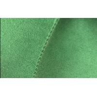 China 100 Colors Dyed Microfiber Leather Fabric,Eco Friendly Suede Leather for Shoes Vamp wholesale