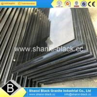 China shanxi black granite with golden spots 180x60x3cm for Iran clients wholesale
