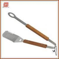 2 in 1 spatular with tong in high quanlity and bbq fish turner