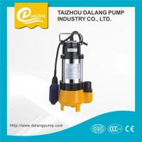 China 0.75kw High Efficiency Float Switch Stainless Steel Submersible Sewage Water Pump wholesale