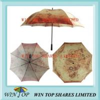 China 27 Inch Ancient Egypt Map Heat Transfer Umbrella wholesale