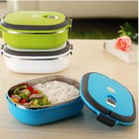 China Outer Plastic Inner Stainless Steel Lunch Box wholesale