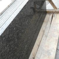 China 2015 New Cheap Lazihou Green Granite Slab Price for Kitchen Green Color Granite Countertops Prices wholesale