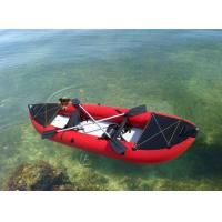 China Foldable Inflatable Racing Blow Up Kayak Rubber Boats for Fishing wholesale