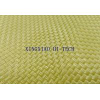 China 350℃ Kevlar Fiber Knitted Fireproof Fiberglass Fabric High Intensity 0.2 - 2.0mm Thickness wholesale