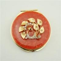 China Cosmetic compact mirror/Double-sided compact mirror on sale