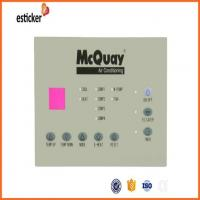 China New Type Waterproof Membrane Switch For Air Conditioning on sale