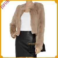 Buy cheap Fur jackets whole knitting rabbit fur jacket from wholesalers