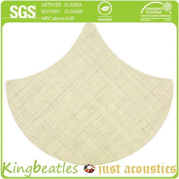 Quality Wool Silk Decorative Acoustics Tiles for Sound Absorbing and Insulation in Office, Hotel for sale