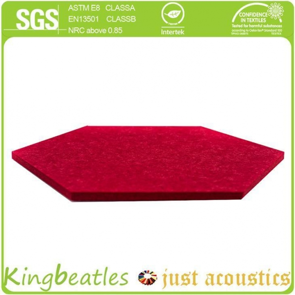 Quality Acoustic Polyester Panels for Ceiling and Wall Sound Absorbing and Noise Control for sale
