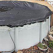 Above Ground Rugged Mesh Winter Pool Covers