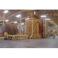 China 5000m3/year wood particle board line on sale
