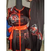 China Martial Arts Uniforms sleeveless Chinese nanquan suit for kung 2012717144648 wholesale