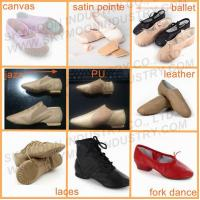 China Leather Jazz Shoes With Split Soles on sale