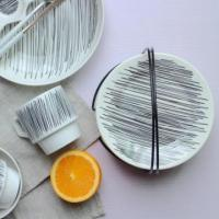 China Ceramic Dessert 6 inch Plate Dish for Wholesale wholesale