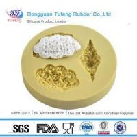 China Silicone Sugar Lace Mould Cake Decorating Silicone Fondant Mold wholesale