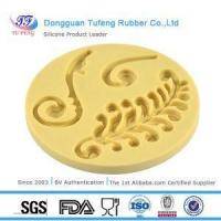 China Silicone Kitchenware Forever Floral Fern Flourish Silicone Moulds Set Fondant Mould wholesale