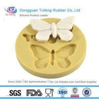 China Silicone Kitchenware Butterfly Chocolate Fondant Mold Sugarcraft Silicone Molds wholesale