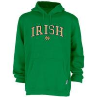"""China Notre Dame Kelly """"Irish over ND"""" Hooded Pullover Sweatshirt wholesale"""