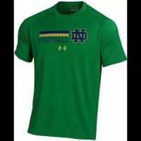 """China UNDER ARMOUR NOTRE DAME NEW FOR 2016 KELLY """"ON-FIELD"""" ND FOOTBALL PERFORMANCE T-SHIRT wholesale"""
