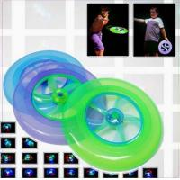 China Led Flashing Flying Disc Golf Flying Disc Outdoor Toys on sale