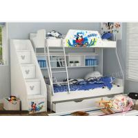 China Children Wood Twin Toddler Bed in White wholesale