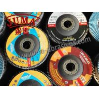 China China OEM 115*22mm,Grit40 Ceramic Coated Abrasive Flap Disc factory for Angle Grinder Machine wholesale