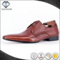 China Italian fancy leather dress shoes for men on sale