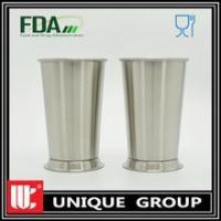 China NEW Stainless Steel Reusable Pint Cups Wine Glasses Beer Mugs 16OZ /480ML wholesale