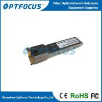 GLC-T Gigabit 10/100/1000M Copper Ethernet SFP to RJ45 Fiber Optic Transceiver