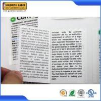 Multi-layer Labels Doubel Layer Label Sticker
