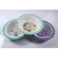 China Eco Friendly Plastic Melmaine Kid Toddler Baby Children's Cereal Bowl wholesale