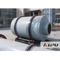 Low Power Consumption Three Drum Rotary Dryer Material Less Than 20mm