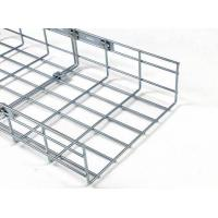 China Wire Mesh Cable Tray High Quality Electrozinc CM100 Wire Mesh Cable Trays with Low Price on sale