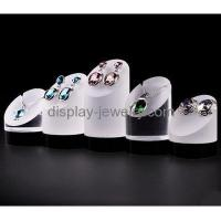 China Custom acrylic store displays acrylic jewelry display counter display stands for jewelry EDJ-054 wholesale