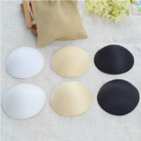 China White Soft Comfortable Bra Cups for Swimwear Bra Removable Pads Silicone Bra wholesale