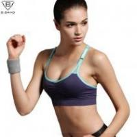 Buy cheap Professional Sports Mesh Fitness Women Yoga Top Sexy Push-up Sports Bra Yoga Fit #10532 from wholesalers