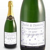 Birthday Candles Engagement Hearts Champagne
