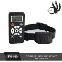 China 2 in 1 waterproof remote control 1 or 2 pet dog training electric shock collar wholesale