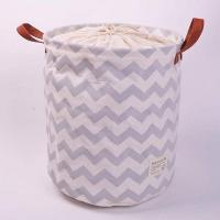 China 100% Natural Canvas ECO Friendly Collapsible Foldable Laundry Baskets wholesale