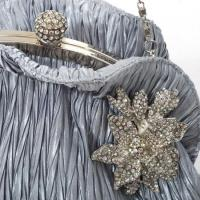 China Clutch Bags latest design satin fold clutch purses bags Evening Bags on sale