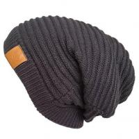 China LETHMIK Functional Slouchy Beanie Unisex Skully Hat Warm Infinity Scarf in 3 Colors wholesale