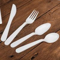 China PP20 flatware cutlery set /disposable cutlery pack /plastic spoon fork knife wholesale