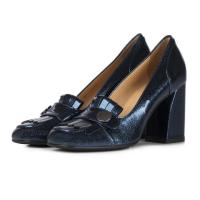 China Women Shoes Wholesale Italian Sexy High Heel Party Loafer Women Leather Dress Shoes HS1598 on sale