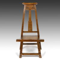 China Seating A-Frame Side Chair with Rattan Seat on sale