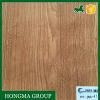 China Film Faced Plywood Wood-Grain-Printed-Membrane-Embossed-Film-Supplier on sale