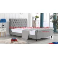 China Wood Bed Frame Queen on sale