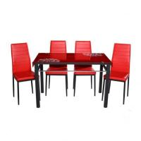 China High-Quality-Durable-Glass-dining-room-furniture on sale