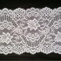 China Mesh Fabric Type and Decorative Lace Trim Elastic Lace Fabric 86533# wholesale