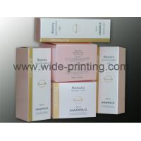 China Cosmetic Paper Box printing with matte lamination SWP15-7 wholesale